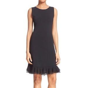NWT Theory Torylevina Ruffle Hem A-Line Knit Dress
